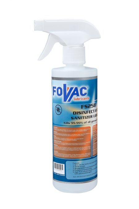 FOVAC FS258 DISINFECTANT SANITIZER SPRAY (500ml), Malaysia